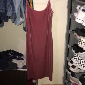 Pink Forever 21 Bodycon Dress